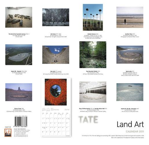 Tate Calendar 2011