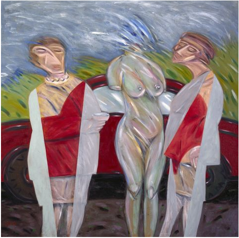 Die drei Grazien, 1986