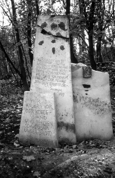 rheinelbe sculpture woods, gelsenkirchen, herman prigann