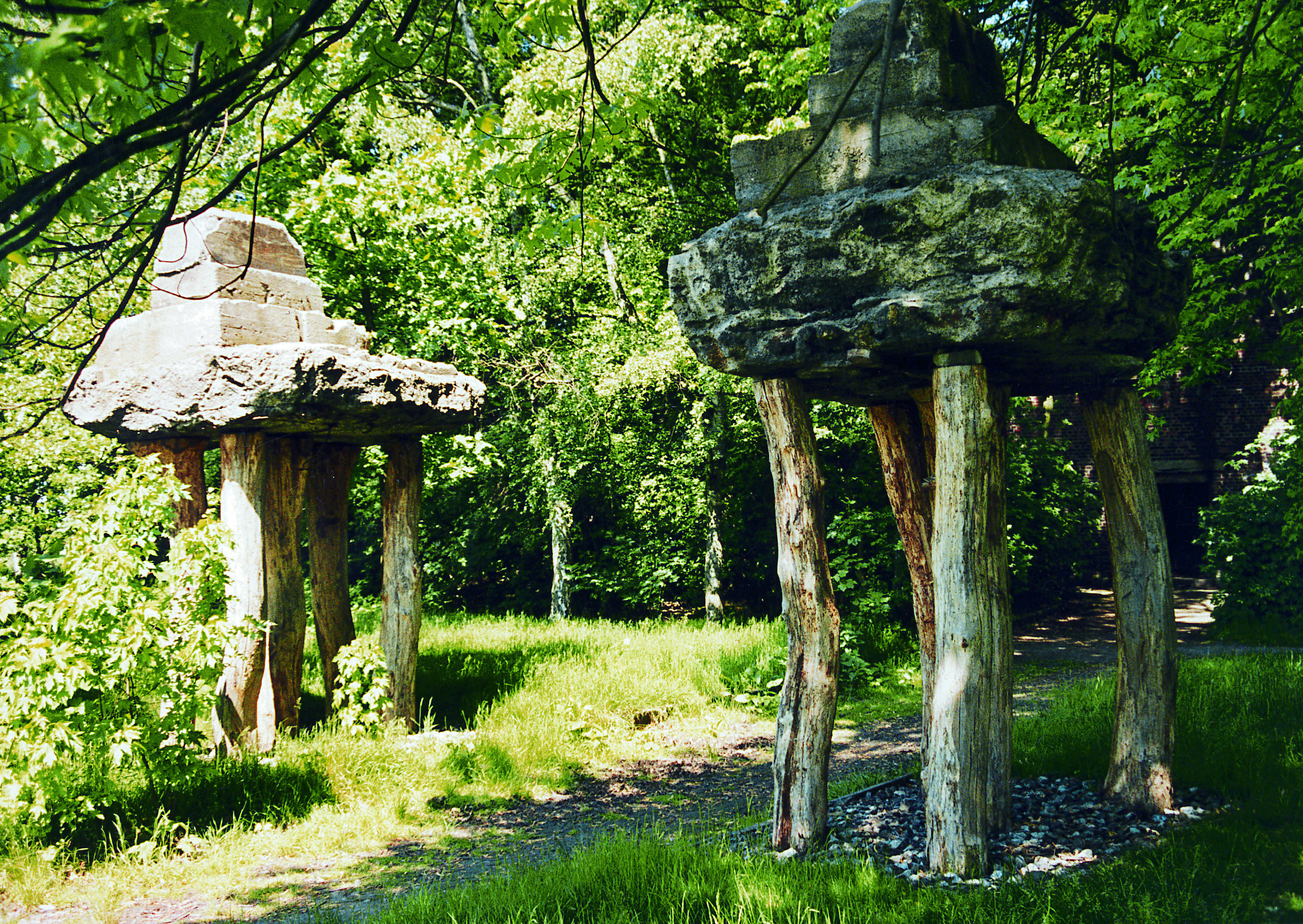 rheinelbe sculpture woods, herman prigann, photo annette berger