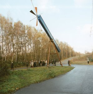 windwaage, Rheinelbe Sculpture Woods by Herman Prigann